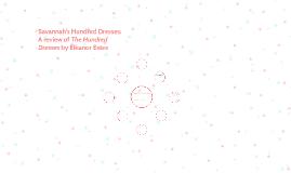 Savannah's Hundred Dresses