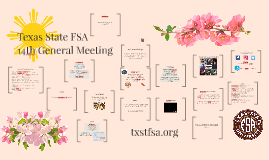 TXST FSA: 14th GM