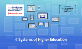 PREP 4 Systems of Higher Education