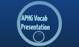 APHG Vocab Presentation