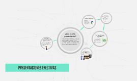 Copy of PRESENTACIONES EFECTIVAS