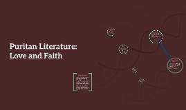 Puritan Literature: Love and Faith