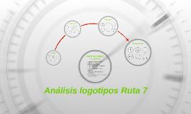 Análisis logotipos Ruta 7