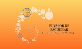EL VALOR DE ESCUCHAR