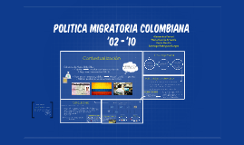 Inversion Extranjera vs. Inmigracion