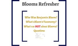 Bloom'n Standards