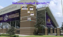 Football Recruit Orientation Spring 2015