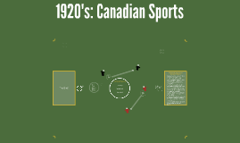 Copy of Canadian Sports in the 1920's
