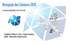 Recepção dos Calouros 2015