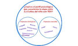 ¿Cuál es el perfil psicológico que caracteriza la etapa entr
