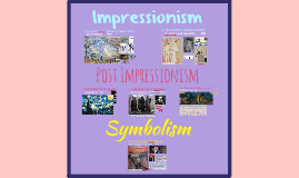 18/19c - Impressionism, Post-Impressionism, and Symbolism