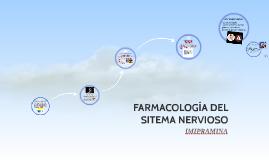 FARMACOLOGÍA DEL SITEMA NERVIOSO