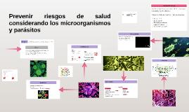 Prevenir riesgos de salud considerando los microorganismos y