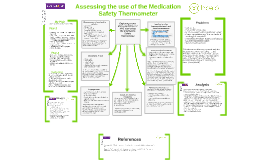 Assessing the use of the Medication Safety Thermometer