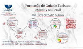 Formação do Guia de Turismo: estudos no Brasil e em Portugal