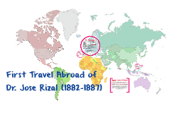 Copy of First Travel Abroad of Dr. Jose Rizal (1882-1887)