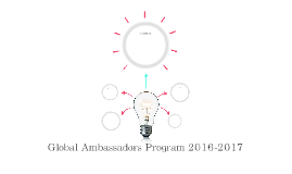 Global Ambassadors Program 2016-2017