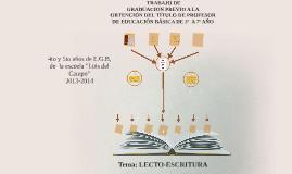 Copy of  LECTO-ESCRITURA