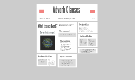 Copy of Adverb Clauses