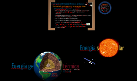 Energia geotérmica e energia solar