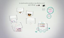 Copy of La motivación escolar y sus efectos en el aprendizaje