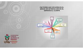 Copy of FACTORES QUE INFLUYEN EN EL GRADO DE SATISFACCION DEL CLIENT