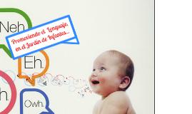 Copy of Promoviendo Lenguaje en el Jardin de Infantes