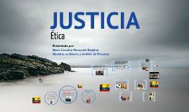 Justicia - Perspectiva ética