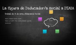 La figura de l'educador/a social a l'EAIA