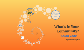 What's In Your Community?