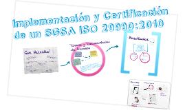 Pasos para la Implementación y Certificación de un Sistema de Gestión de Servicios de Aprendizaje ISO 29990:2010 - www.cirecom.co