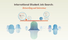 International Student Job Search: Networking and Interviews
