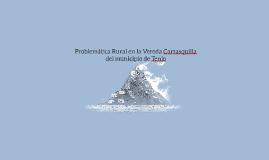 Problemática Rural en la Vereda Carrasquilla del municipio d