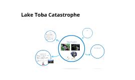 Lake Toba Catastrope