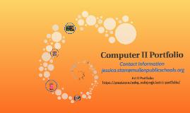Computer II Portfolio