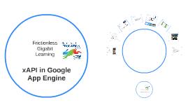 xAPI - Frictionless Learning