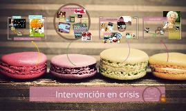 Intervensión en crisis