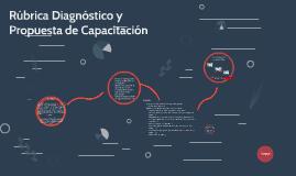 Rúbrica Diagnóstico y Propuesta de Capacitación