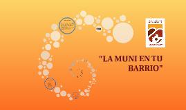 La Muni en Tu Barrio 2018
