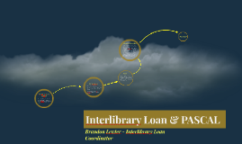 Interlibrary Loan and PASCAL
