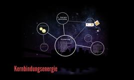 Kernbindungsenergie