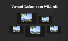 Vor-Nachteile von Wikipedia