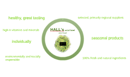 HALL`s salad bowl                   mix it fresh!