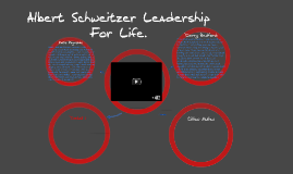 Albert Schweitzer Leadership for life.