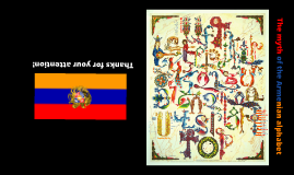 Copy of The myth of the Armenian alphabet