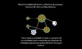 Copy of Metacomunidades: uma ferramenta para compreensão de comunida