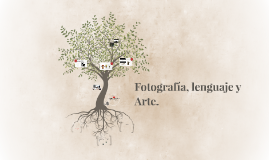 Fotografía, lenguaje y Arte.