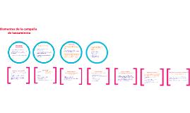 Edición de publicaciones - Elementos fundamentales de la campaña de lanzamiento