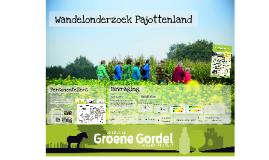 Persvoorstelling Wandelonderzoek Pajottenland 2016