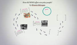 How did WWII affect everyday people? by Kimmie McLagan